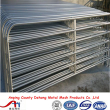 china wholesale galvanized used horse panel, portable horse stall, flexible horse fence. horse stall panels