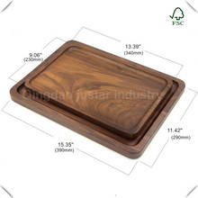 wholesale wooden serving tray set,hand painted wood tray,wood fruit tray