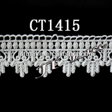 Wholesale cotton lace trim for wedding dress CT1415
