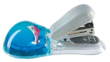 acrylic decorative stapler with customized floater and liquid