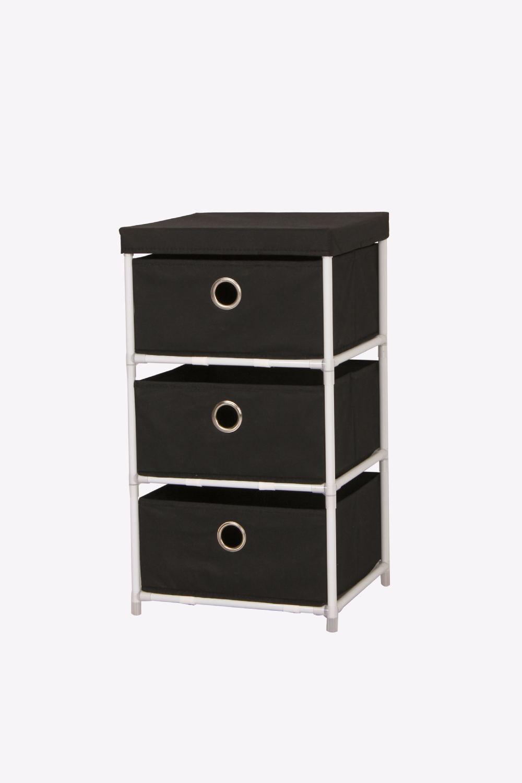 Lockable Bedroom Furniture Distributor Black Color Brakets For Assemble Storage Black Color