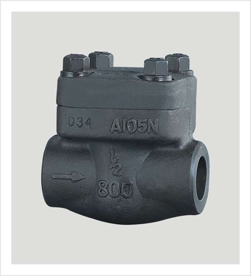 Bolted Bonnet Forged Steel Check Valve