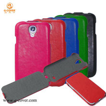 for Samsung Galaxy S4 leather case hot flip case wholesales,summer phone case with candy color