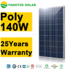 Economical high efficiency solar panel 140w