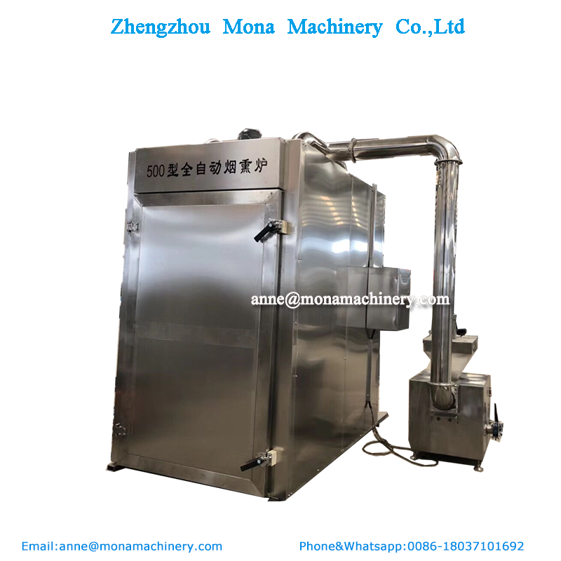 30-1000kg per batch gas or electric batch fish smoker/smoked turkey legs machine/cold smoking herring oven
