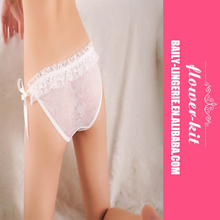 Four Color Women Fashion Ruffle Lace Panties Thongs Sexy <strong>Underwear</strong>