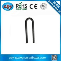 High quality 65Mn u shaped metal spring clip factory
