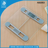 AB2053 precision digital electronic glass personal bathroom weight scales