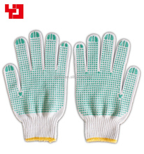 PVC dotted cotton gloves friction resistant knitted gloves for working gloves