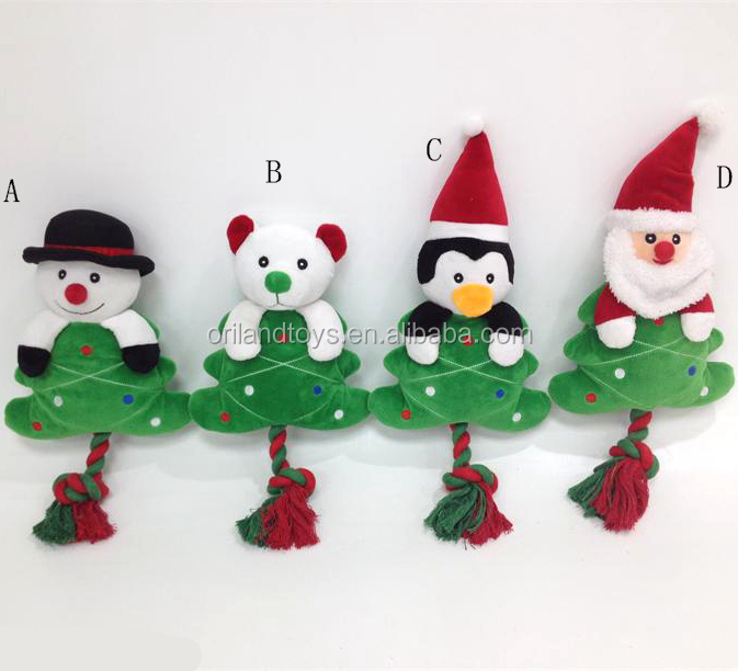 Cute Logo Branded Christmas Promotional pet toys for cats pets