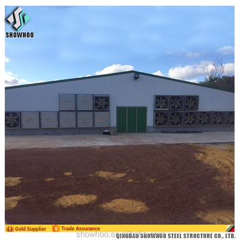 Agricultural Poultry Farming House Chicken Shed Buildings Design