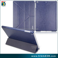 high quality samrt tablet leather case for ipad5