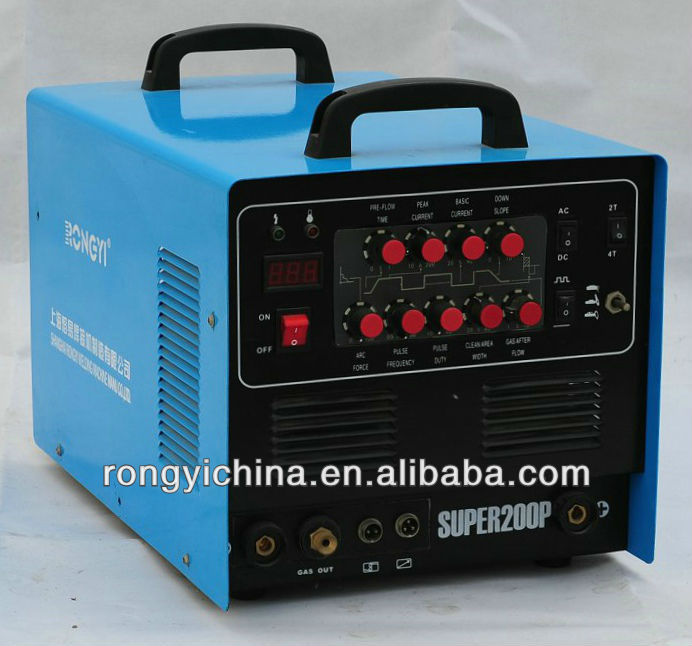 SUPER200P AC/DC PULSE TIG/MMA/CUT pictures of welding machines