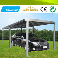 low cost flat roof metal carports wholesale