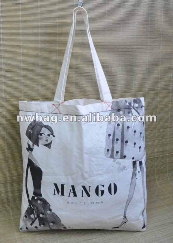 2013 Cotton Tote Bags Promotion From Fty