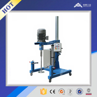 Industrial pneumatic Lift High Speed Dispersing Machine for paint| printing ink| coating| pigment| dye stuff