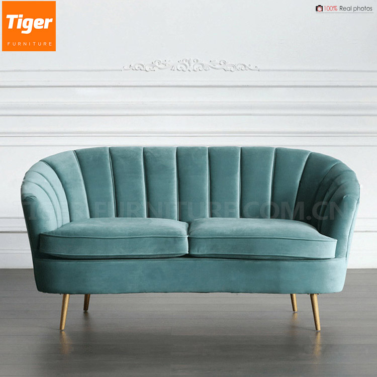 2017 velvet luxury sofa sets tiger furniture