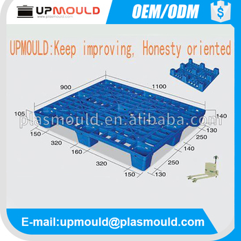 customization plastic pallet mould pvc tray mold