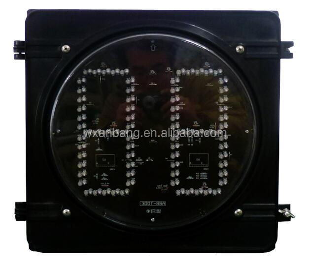 LED waterproof Two Color 2 digital traffic light Countdown Timer