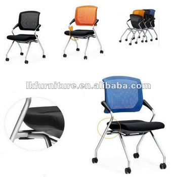 New design mobile training chair with mesh back as12 buy for New model chair design