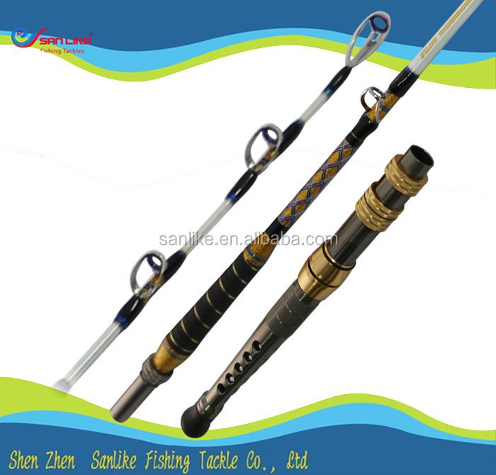 Solid fiberglass fuji guides tuna fishing rod buy tuna for Tuna fishing pole
