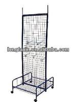 Double-Sided Garden Plant Seed Display Rack