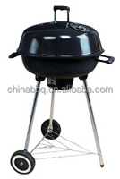 Bbq Grill Portable Charcoal Bbq Gril Round Grill With Black Enamel