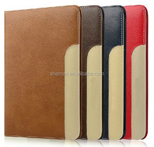 china hot sale Design Flip PU Smart Cute Stand leather for ipad case handmade