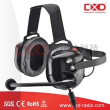 Heavy Duty Headset with Behind-the-head Dual Muff