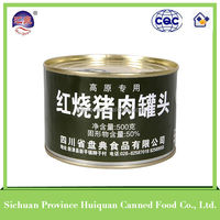 2015 wholesale china import food meat/canned food in tin packing