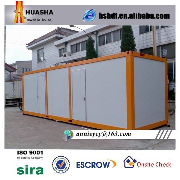 Low Cost Container movable sandwich panel housing with Insulated