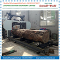 MJ1000D Diesel Engine Horizontal Portable Band Saw For Hardwood