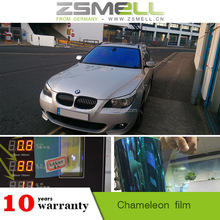 Removable Chameleon Tint 90% IR Cut Easy to peal off with steady adhesion Car Reflective Window film