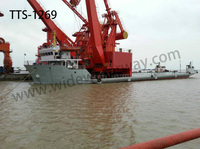 TTS-1269 3500 dwt Heavy goods deck barge for sale
