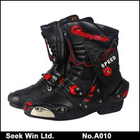 Sportswear Racing Shoes Motorbike Professional Motocross Boots Motor Bike Protective Motorcycle Boots Men A010