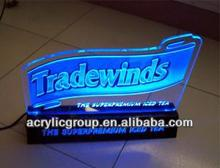 Manufacturer supplies elegant led acrylic sign