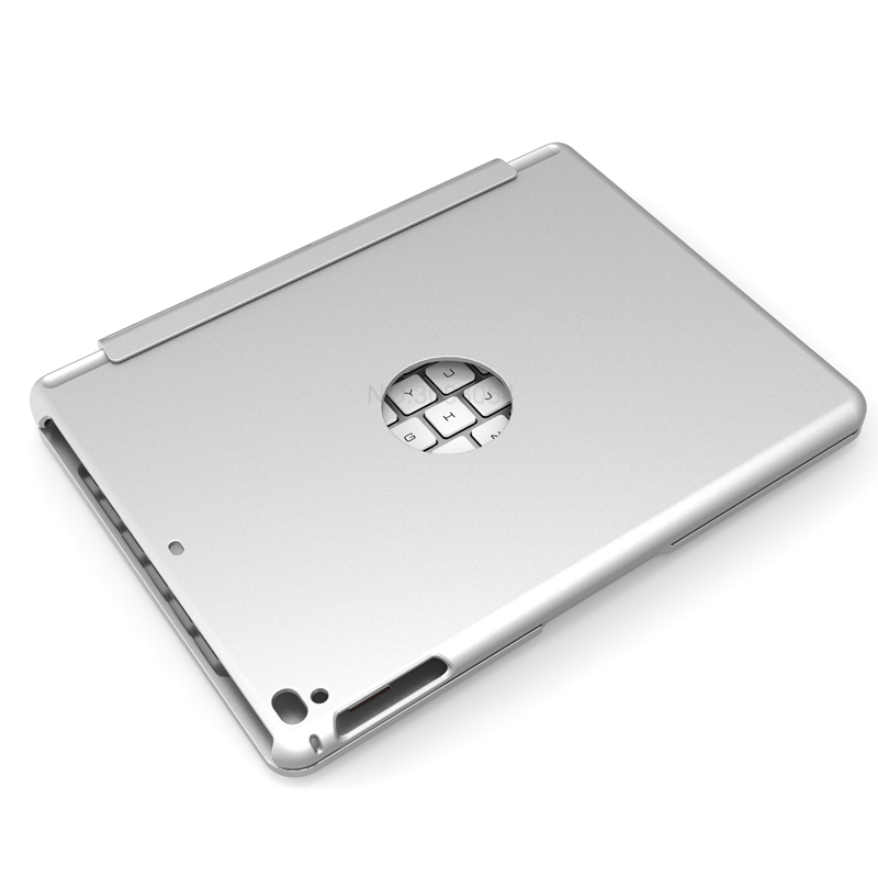 Silver for iPad keyboard with case 97 with logo