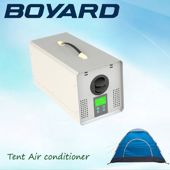 DC24V Portable semi truck cab air conditioner for camping tent RV camper