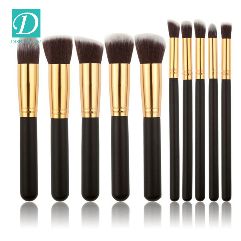High Quality 10pcs Cosmetic Brush For Women Make Up Make Up Brush Set
