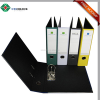 Custom pp cover a4 size lever arch file folder