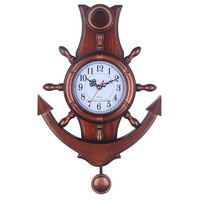 Antique pendulum0 3d wall clock