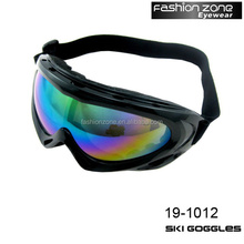 2017 HOT custom ski goggle lens manufacturers anti fog skiing goggle