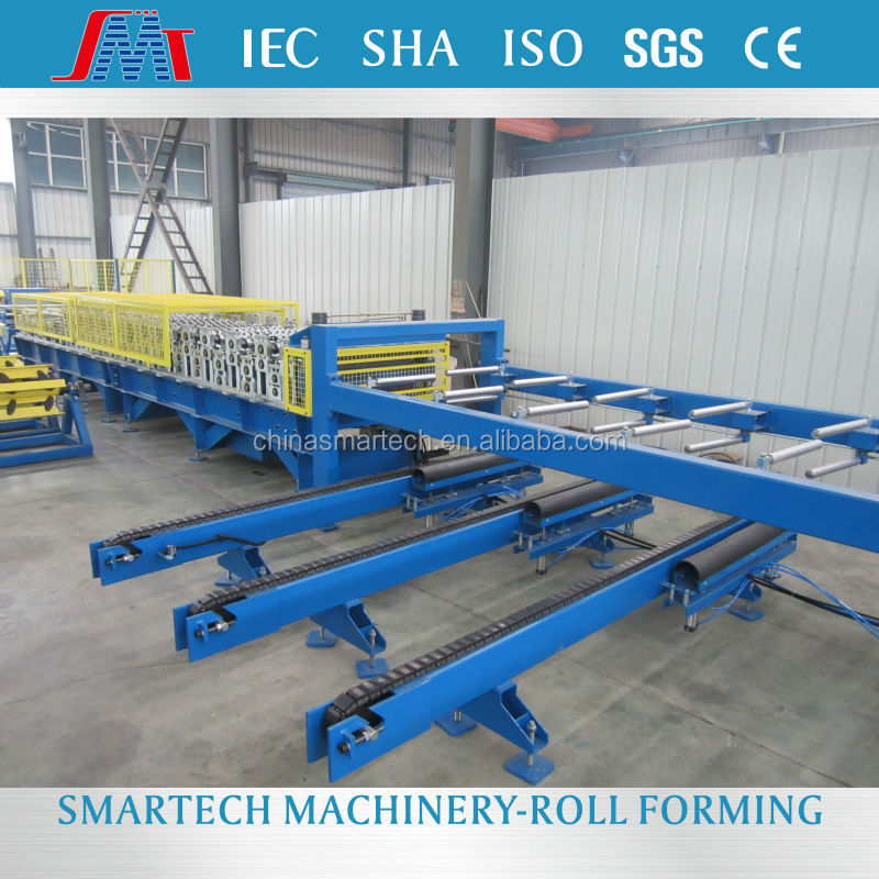 Corrugated iron roofing sheet double layer roll forming machinery