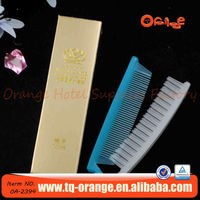 hot sale foldable hotel comb