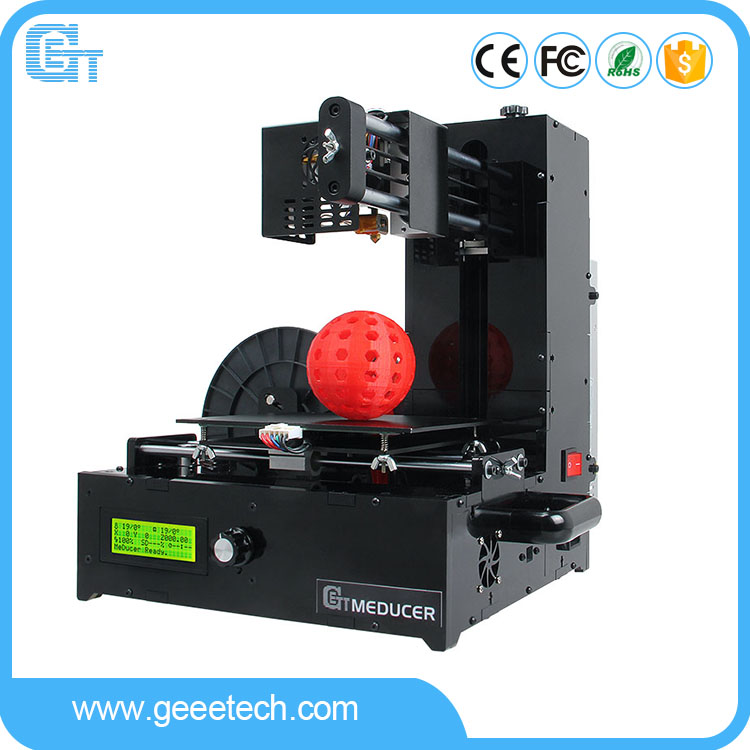 Geeetech 3d printer manufacturers supply mini desktop assemble acrylic 3d printer