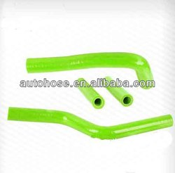 Green Silicone Radiator Hose Kit For YAMAHA YZ125 2003-2008 04 05 06 07