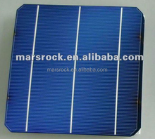High Performance 156mm Monocrystalline Solar Cell With 2 or 3 Busbar