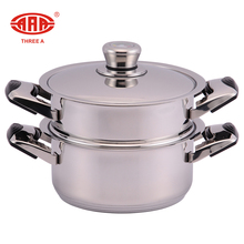 AAA new product soup cooking stainless steel Japanese dim sum steamer pot for family
