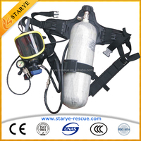 SCBA Self Contained Air Breathing Apparatus Breathing Device Fireman Outfit