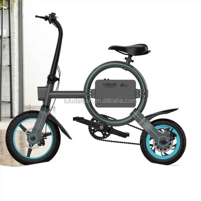 2018 new electric bicycle Pedal e bike 250W 36v 6.6Ah